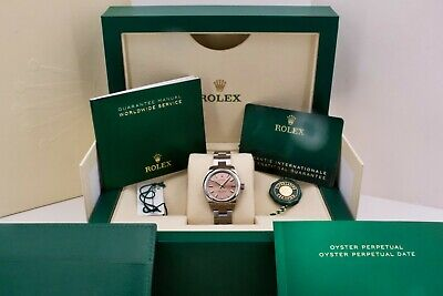 $ CDN9375.18 • Buy Rolex Oyster Perpetual 276200 28mm Pink Dial Unworn 2021 Box And Papers