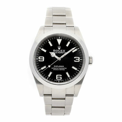 $ CDN12643.98 • Buy PRE-SALE Rolex Explorer Auto 39mm Steel Men's Bracelet Watch 214270 COMING SOON