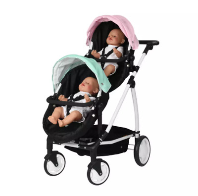 £20 • Buy JOIE Evalite Duo Double Pushchair In Two Tone Black