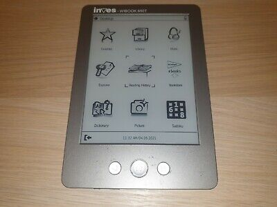"£25 • Buy EBook Reader 6 ""Inves Wibook 650T (e-Ink Pearl Touchscreen, MicroSD, WI FI, MP3)"