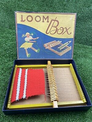 £25.99 • Buy Vintage Loom Box Game, House Clearance Old Game