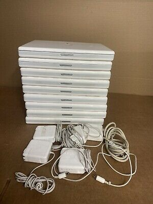 $ CDN181.49 • Buy Lot Of 9 Apple IBook G4 14  A1134 1.33GHz 512MB Ram 60GB HDD W/ AC Adapers