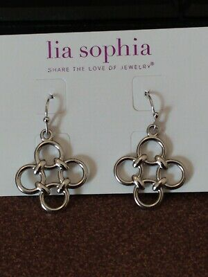 $ CDN6.65 • Buy Lia Sophia Silver Celtic Style Dangle Earrings