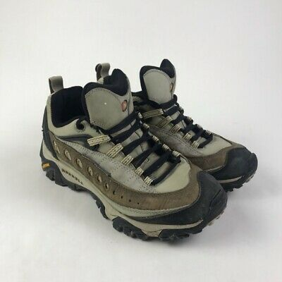 $ CDN54.44 • Buy Merrell Womens Pulse Wintergreen Hiking Shoes Green Trail Suede Low Top 8.5 M