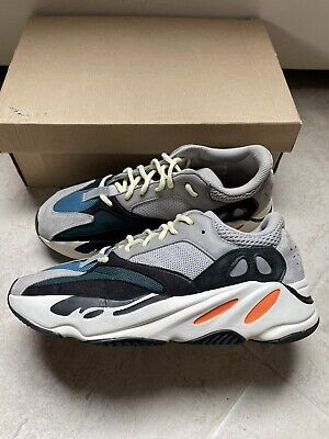$ CDN462.86 • Buy Adidas Yeezy Boost 700 Wave Runner Size 10 Worn Pre Owned Condition Rep Box