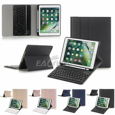 AU45.99 • Buy For IPad Pro 10.5  2017 Wireless Keyboard Tablet Cover Case Stand W/ Pencil Slot