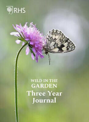 £7.58 • Buy Royal Horticultural Society Wild In The Garden Three Year Journal