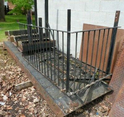 £800 • Buy Steel Fire Escape Stairs With Platform