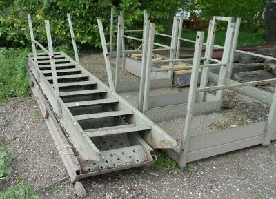 £1200 • Buy Steel Fire Escape Stairs With Platform