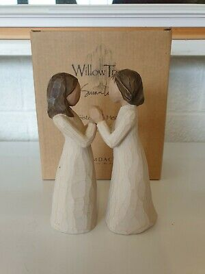 £22.50 • Buy Willow Tree Figure  Sisters By Heart  With Box