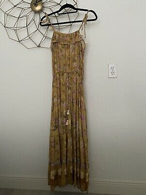 AU257.55 • Buy Spell Designs Wild Bloom Strappy Maxi Dress Medium