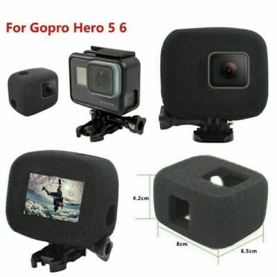 AU11.58 • Buy Wind Noise Reduction Windproof Sponge Foam Cover For Gopro Hero 5 /6 Session