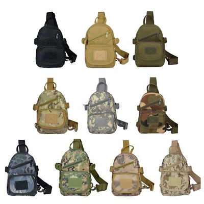 $12.99 • Buy Chest Sling Bag Camping Tactical Backpack Military Army Sports Outdoor Sport Bag