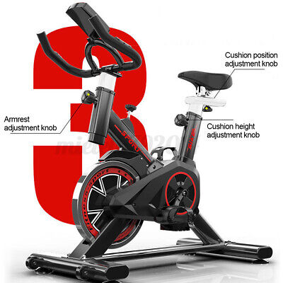 £132.99 • Buy Exercise Spin Bike Home Gym Bicycle Cycling Cardio Fitness Training Indoor