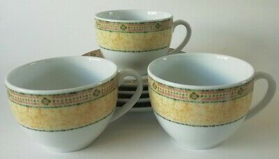 £26.50 • Buy Wedgwood Florence Tea Cups And Saucers X 3