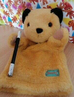 £7.99 • Buy Sooty Productions Hand Puppet With Wand Golden Bear Collectable 2000 Vintage