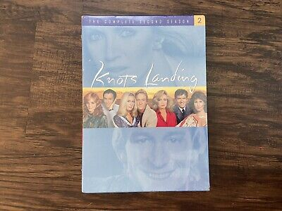 £24.77 • Buy Knots Landing - The Complete Second Season 4-Disc (DVD, 2009) Donna Mills NEW