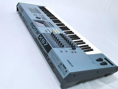 £1520.66 • Buy YAMAHA MOTIF XS7 Music Production Synthesizer AC100V Excellent From Japan