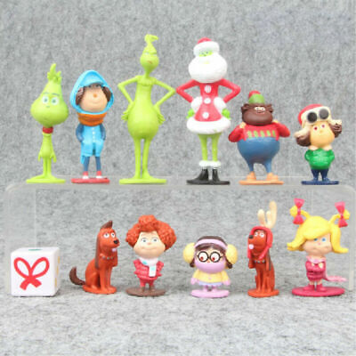 £8.28 • Buy 12Pcs How The Grinch Stole Christmas Cartoon Action Figure Toy Kid Birthday Gift