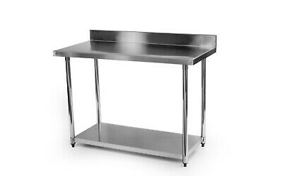 £129 • Buy Stainless Steel Commercial Catering Table Work Bench Kitchen 900mm X 600mm