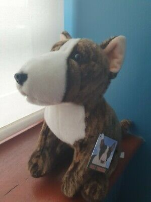 £17.99 • Buy 12  English Bull Terrier Teddy Brindle English Bull Terriers Soft Toy Dog Dogs