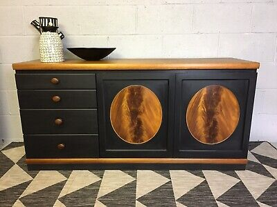£425 • Buy Vintage Mid Century Nathan Sideboard/Cabinet - Iconic Nathan Circles Design