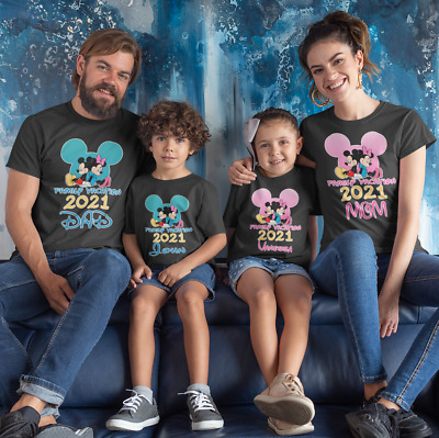 $12.99 • Buy Disney Family Vacation Customized T-shirts New Matching T-Shirts For Families.