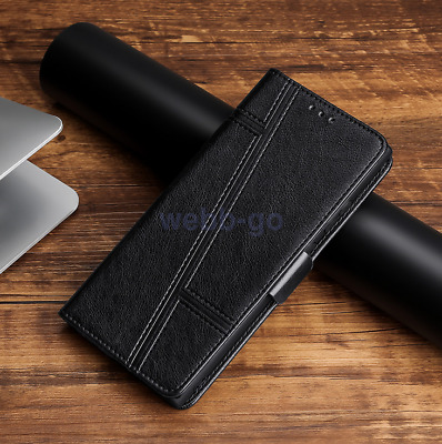 AU9.47 • Buy For OPPO R17 R17 Pro Slim Magnetic Flip PU Leather Wallet Case Cover
