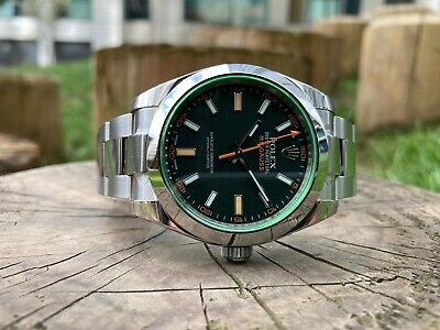 $ CDN13944.17 • Buy Rolex Milgauss 116400GV-0001 (Black Dial) Box And Papers 2018
