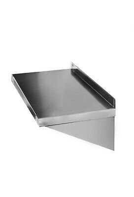 £47.50 • Buy Premium Commercial Stainless Steel Shelf For Catering Kitchen 600mm X 300mm