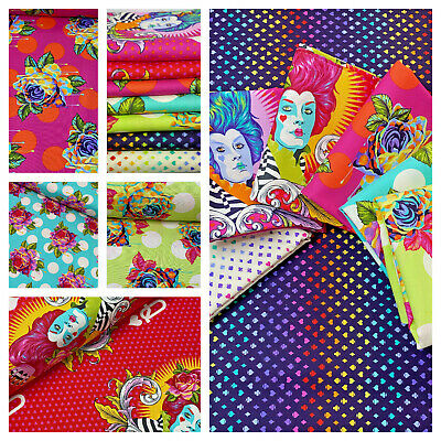 £14.25 • Buy Curiouser And Curiouser - By Tula Pink 100% Cotton Quilting & Patchwork Fabric