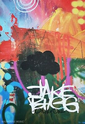 £19.95 • Buy JAKE BUGG POSTER On My One Promo Only Heavyweight PRINT MINT Original 42cm X 30