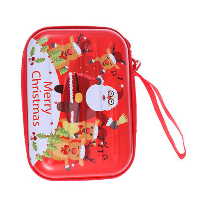 $6 • Buy Christmas Themed Pattern Change Purses Portable Tinplate Coin Box Candy Boxes Ea