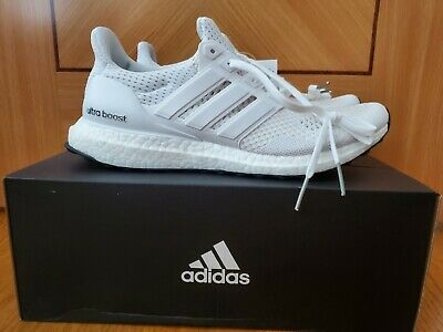 $ CDN145.71 • Buy Adidas Ultra Boost 1.0 Triple White Size 8 And 8.5 S77416