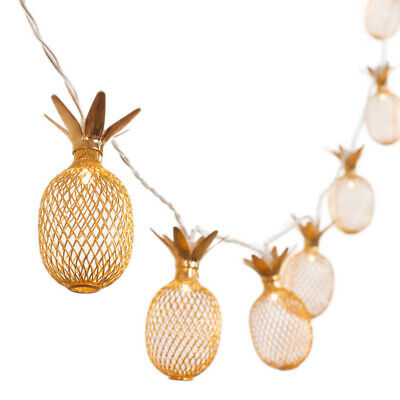 £7.99 • Buy 10LED Pineapple Battery Operated Fairy String Lights Fruit Shaped Hanging Decor