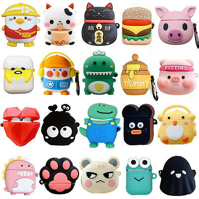 $ CDN7.05 • Buy 3D Animals Silicone Anti Lost Earphone Case Cover For Apple Airpods 1 2 Pro 3