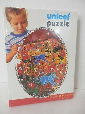 $ CDN60.89 • Buy Unicef 200 Piece Jigsaw Puzzle-NEW/Sealed-Jungle Animals-Africa-Free Shipping
