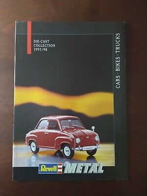 £5 • Buy Revell Die-cast Collection 1997/98 Catalogue Cars Bikes Trucks
