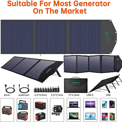 £224.37 • Buy ☀️AUKEY Solar Charger Sun Power Mobile SOLAR Panel USB Ports IPhone Tablet IPad