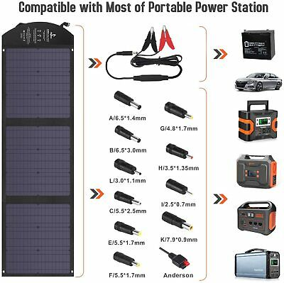 £122.27 • Buy BigBlue Solar Charger SunPower Mobile SOLAR Panel & USB Ports For IPhone Tablet
