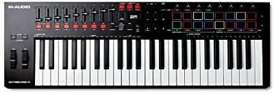 $516.03 • Buy M-Audio 49-key USB MIDI Keyboard Controller Equipped With Velocity-compatible P