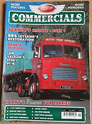 £5 • Buy Heritage Commercials 221 May 2008 Free Postage