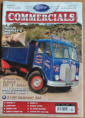 £5 • Buy Heritage Commercials 230 February 2009 Free Postage