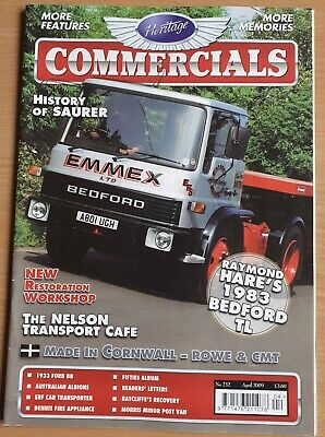 £5 • Buy Heritage Commercials 232 April 2009 Free Postage