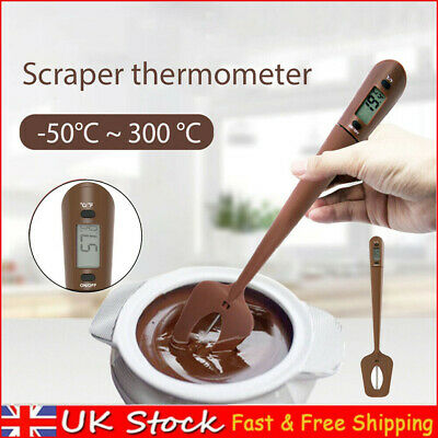 £12.49 • Buy Digital Spatula Thermometer Cooking Temperature Meter For Candy Chocolate Home