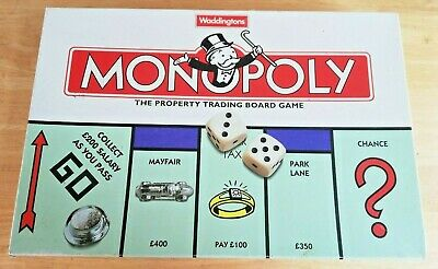 £12.99 • Buy Monopoly Board Game Classic 1996 Edition By Waddingtons (no Instructions)