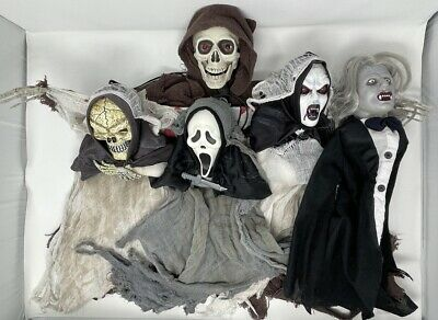 $ CDN188.81 • Buy Easter Unlimited E.U. Ghost Face Scream Movie Hanging Halloween Decoration Lot!!