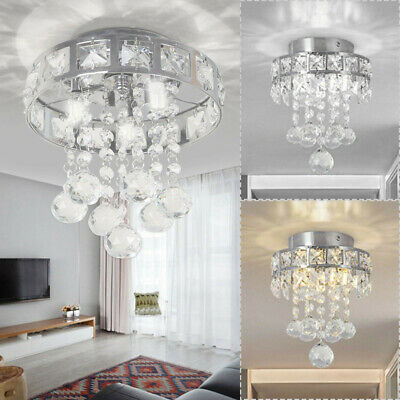 £10.39 • Buy Modern Luxury Chandelier Crystal Light Shades Droplet Ceiling Pendant Lampshade