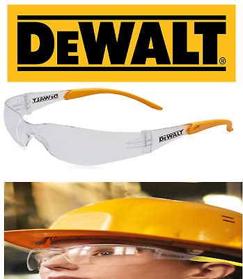 £4.39 • Buy DeWalt  Contractor Pro Clear Safety Glasses Safety Specs UV PROTECTION DEWSGCPC