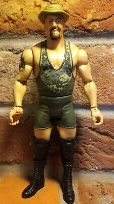 $15 • Buy WWE Big Show Tribute To Our Troops 8  Paul Wight Action Figure 2011 Mattel Hat